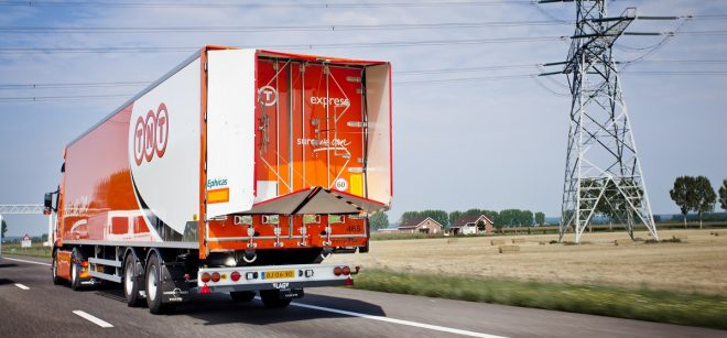 Trailer Tail on Open Highway